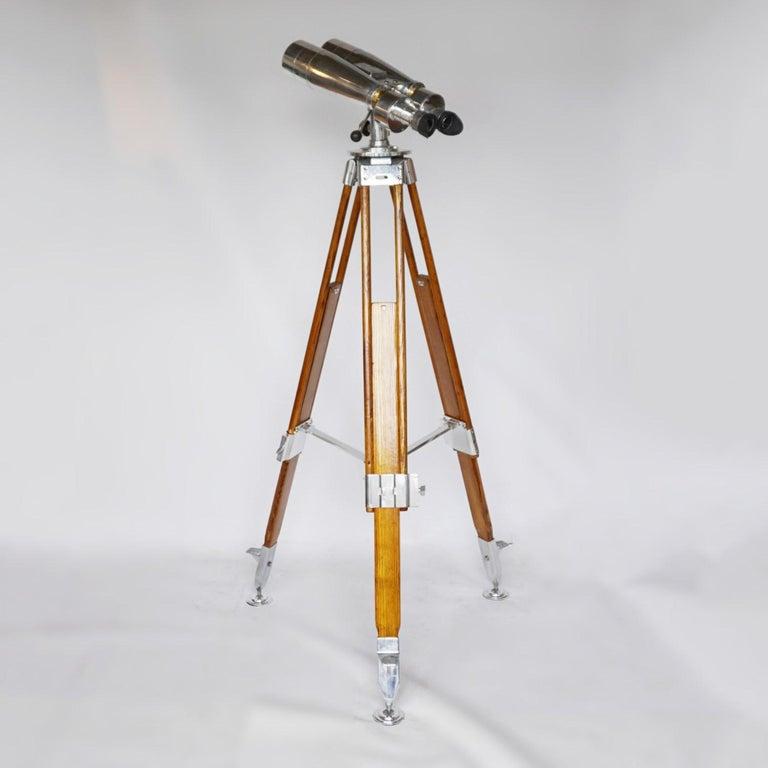Fuji Meibo 15x80 WW11 Naval/Marine Binoculars For Sale 9