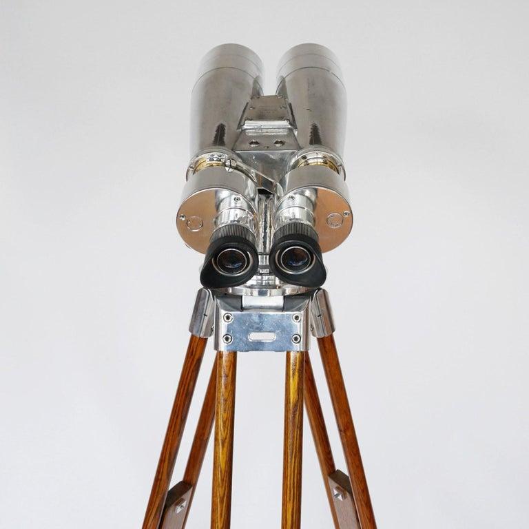 Japanese Fuji Meibo 15x80 WW11 Naval/Marine Binoculars For Sale