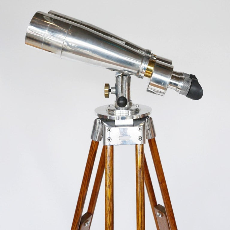 20th Century Fuji Meibo 15x80 WW11 Naval/Marine Binoculars For Sale