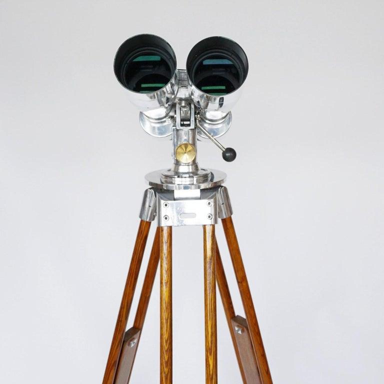 Fuji Meibo 15x80 WW11 Naval/Marine Binoculars For Sale 2