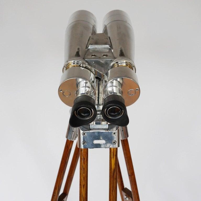 Fuji Meibo 15x80 WW11 Naval/Marine Binoculars For Sale 3