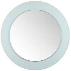 Full Circle Modern Original Round Acrylic-Frame Mirror