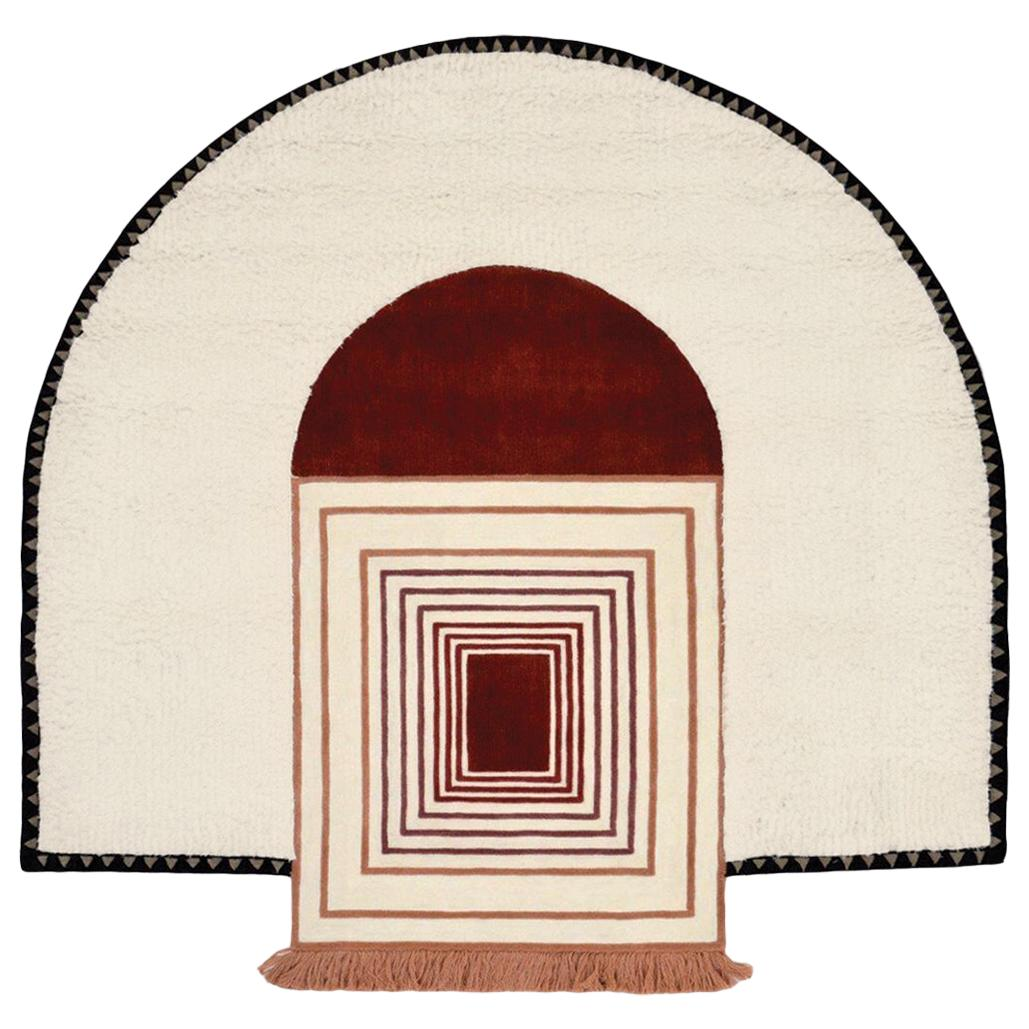 Full Court by Moniomi, Graphic Hand-Tufted Wool Rug