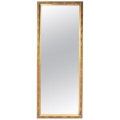 Full Length 19th Century Gilt Mirror