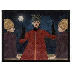 Full Moon Digital Painting