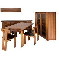 Full Set of Dining Room by Mobilgirgi, circa 1970
