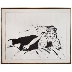 Full Sheet, David Hockney Lithograph