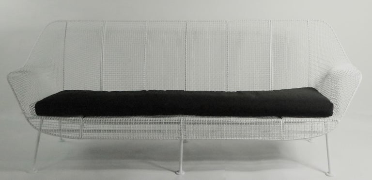 Full Size Woodard Sculptura Sofa For Sale 1