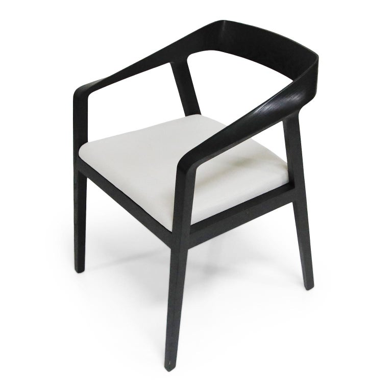 Contemporary Full Twist Guest Chairs by Mark Goetz for Herman Miller, circa 2015 For Sale