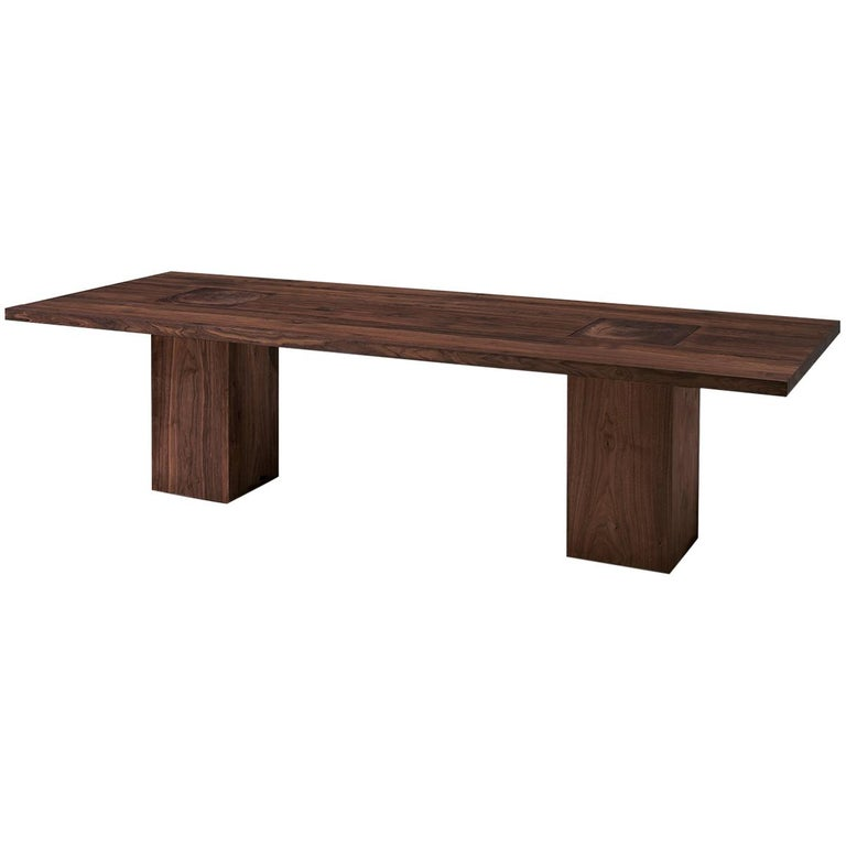 Full Wood Dining Table For Sale