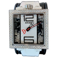 Fully Loaded White Diamond and Stainless Steel Dunamis Pantheon