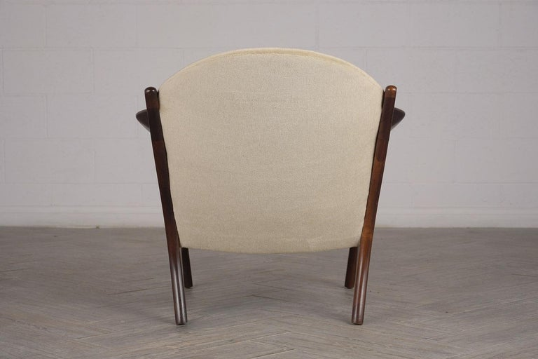 Fully Restored Adrian Pearsall Craft Paddle Single Lounge Chair For Sale 4