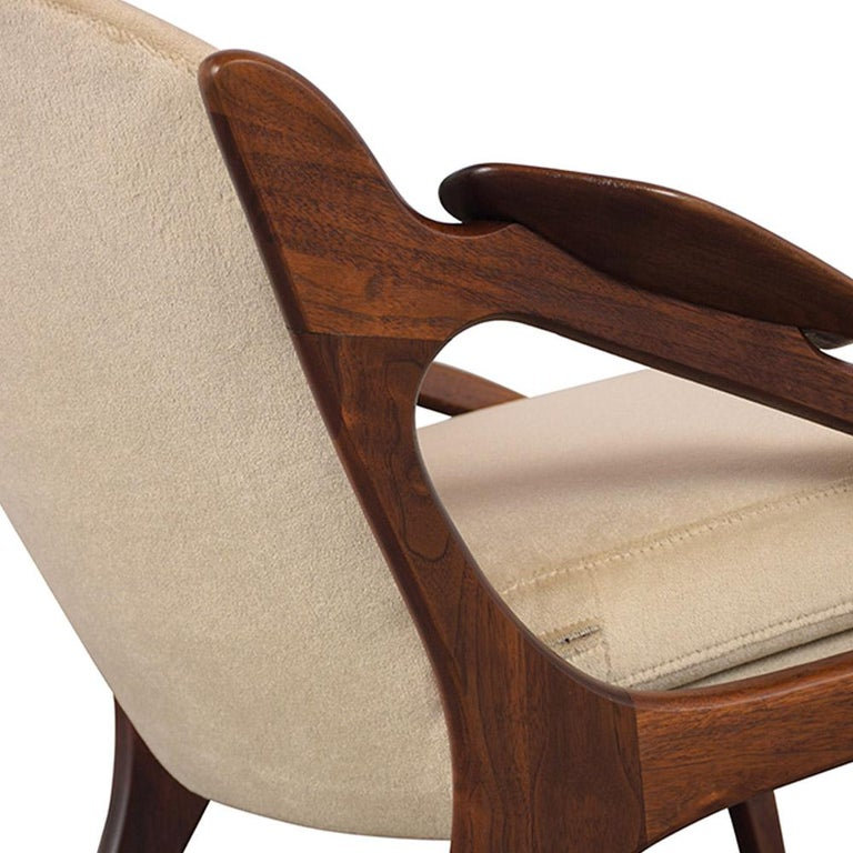 Fully Restored Adrian Pearsall Craft Paddle Single Lounge Chair For Sale 1