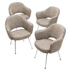 Fully Restored Eero Saarinen Executive Armchairs by Knoll