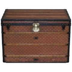 Fully Restored Extra Large Louis Vuitton Paris 1900 Malle Haute Steamer Trunk