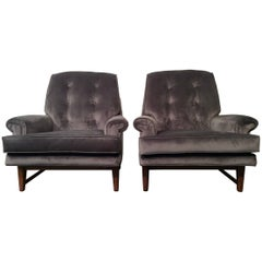 Fully Restored Mid-Century Modern Lounge Chairs by Heritage
