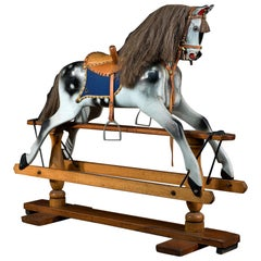 Fully Restored Victorian Rocking Horse
