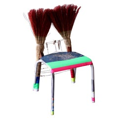 "Functional Art Chair ""Dust my Broom"" by Markus Friedrich Staab"