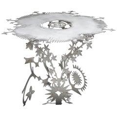 'Ornamentum 2' 6mm Lasered Aluminium Table Orson Van Beek & Quinten Mestdagh