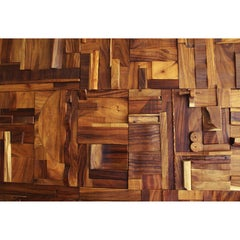 Collage Tiles: feature wall coverings, brutalist artwork w/acoustical benefits.