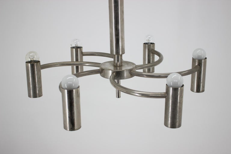 Mid-20th Century Functionalism Chandelier, Bauhaus, Art Deco, 1930s For Sale