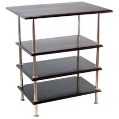 Functionalism Chromed Shelf, circa 1925