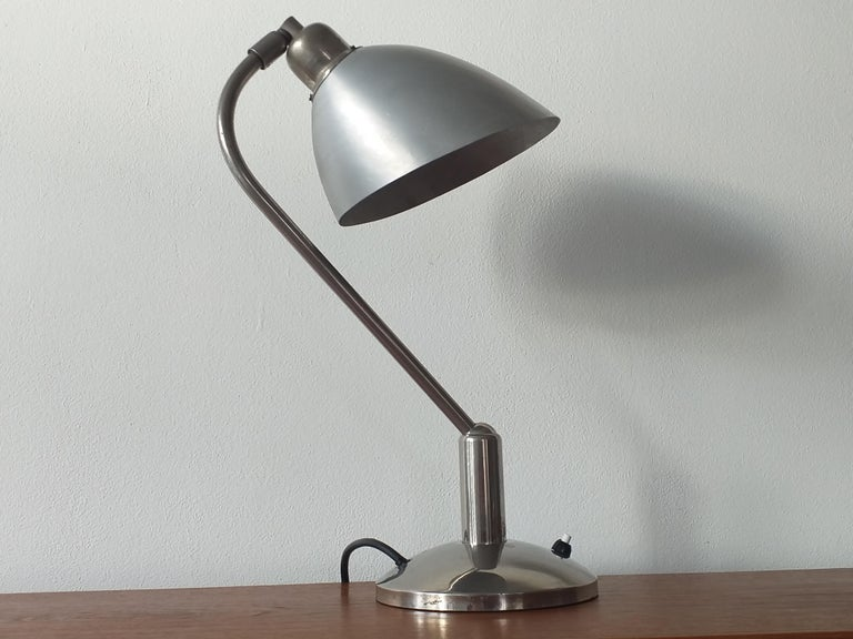 Functionalism Table Lamp Designed by Franta Anyz, Bauhaus, 1930s For Sale 4