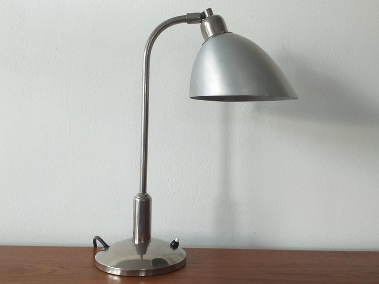 Functionalism Table Lamp Designed by Franta Anyz, Bauhaus, 1930s For Sale 5