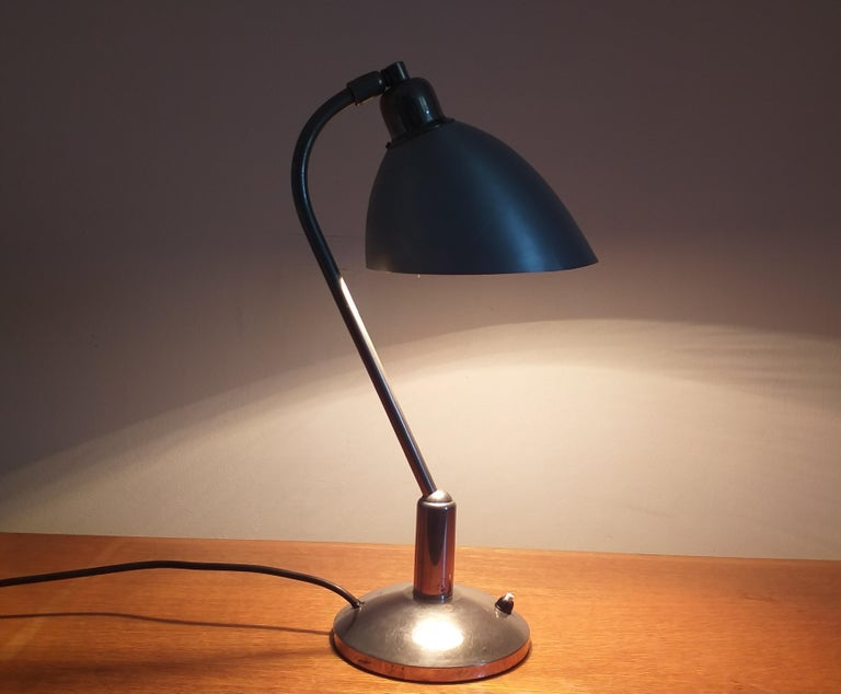 Functionalism Table Lamp Designed by Franta Anyz, Bauhaus, 1930s For Sale 8