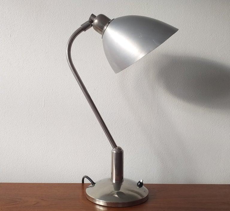 - Iconic and rare type  - Adjustable - For Krasna Jizba - Art Deco, Bauhaus, Functionalism.