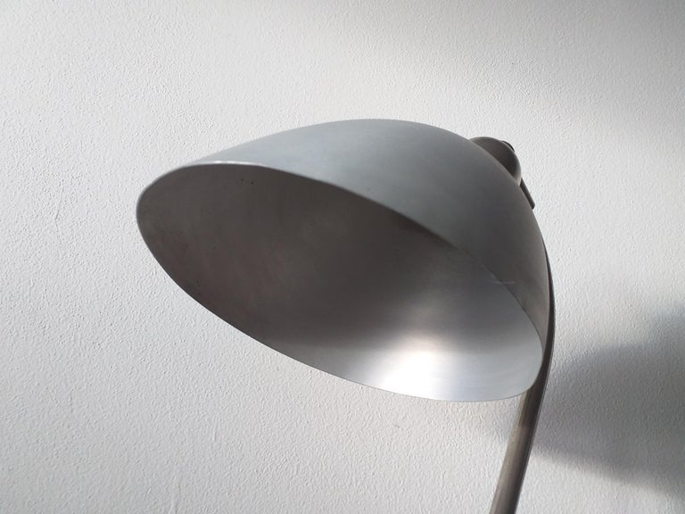 Metal Functionalism Table Lamp Designed by Franta Anyz, Bauhaus, 1930s For Sale