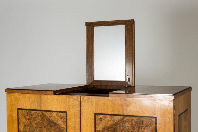 Functionalist Cabinet by Erik Chambert for Chamberts Möbelfabrik, Sweden, 1930s For Sale 2