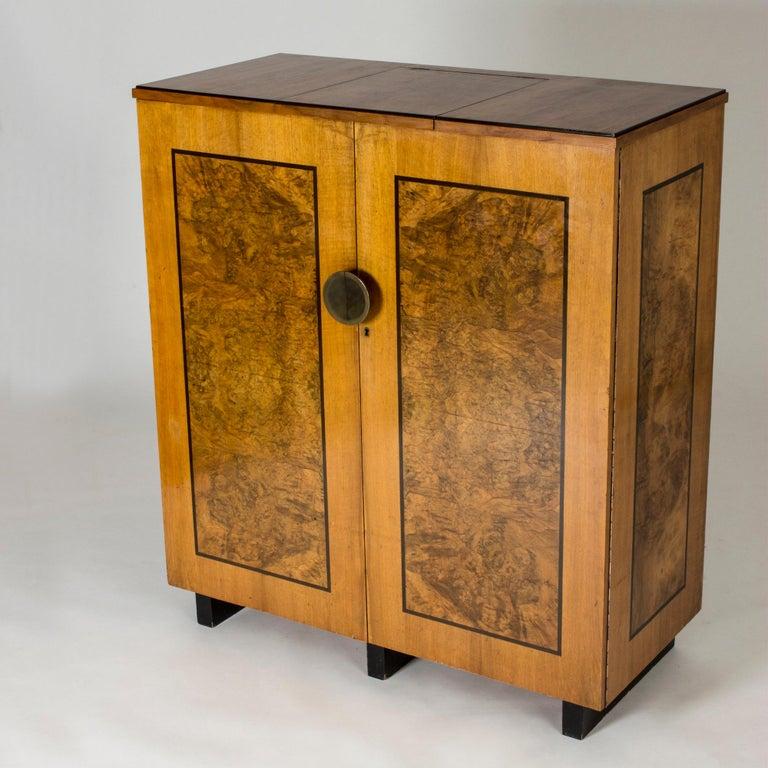 Functionalist Cabinet by Erik Chambert for Chamberts Möbelfabrik, Sweden, 1930s For Sale 6