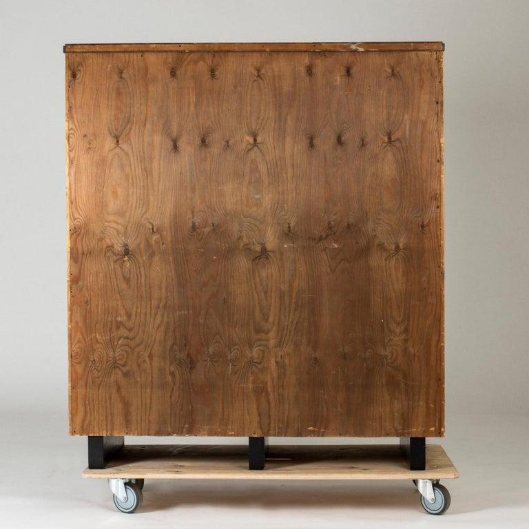 Functionalist Cabinet by Erik Chambert for Chamberts Möbelfabrik, Sweden, 1930s For Sale 8