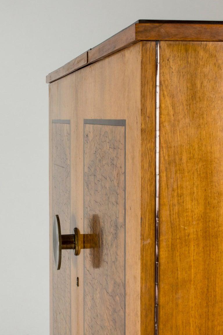 Functionalist Cabinet by Erik Chambert for Chamberts Möbelfabrik, Sweden, 1930s For Sale 10