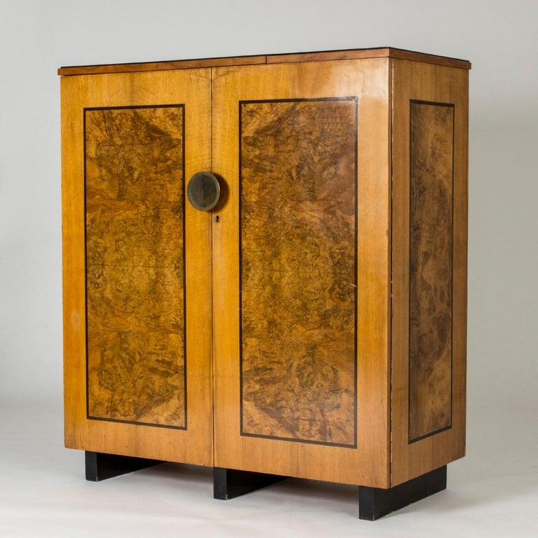 Functionalist Cabinet by Erik Chambert for Chamberts Möbelfabrik, Sweden, 1930s For Sale 11