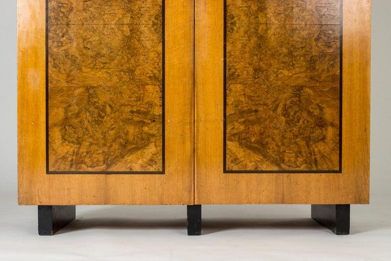 Scandinavian Modern Functionalist Cabinet by Erik Chambert for Chamberts Möbelfabrik, Sweden, 1930s For Sale