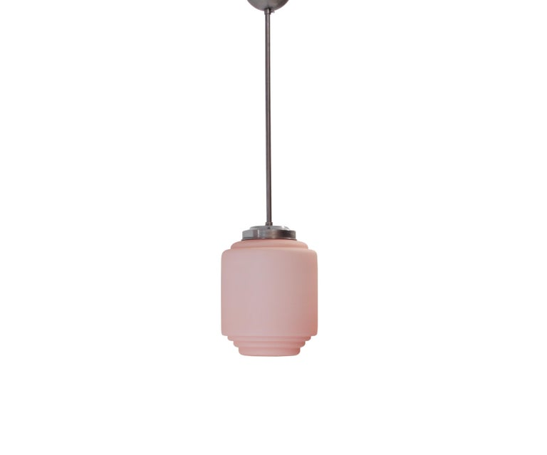 Mid-Century Modern Functionalist Ceiling Light, Sweden, 1950s For Sale