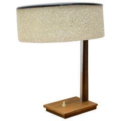 Functionalist Midcentury Table Lamp, 1950s, Czechoslovakia