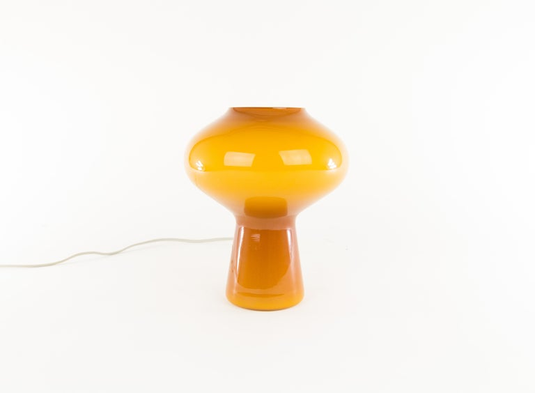 Mid-Century Modern Fungo Glass Table Lamp by Massimo Vignelli for Venini, 1950s For Sale