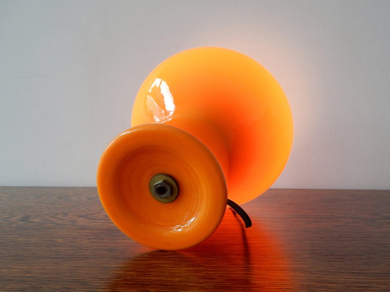 Italian 'Fungo' Murano Glass Table Lamp by Massimo Vignelli for Venini, Italy, 1950s For Sale