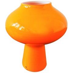 'Fungo' Murano Glass Table Lamp by Massimo Vignelli for Venini, Italy, 1950s