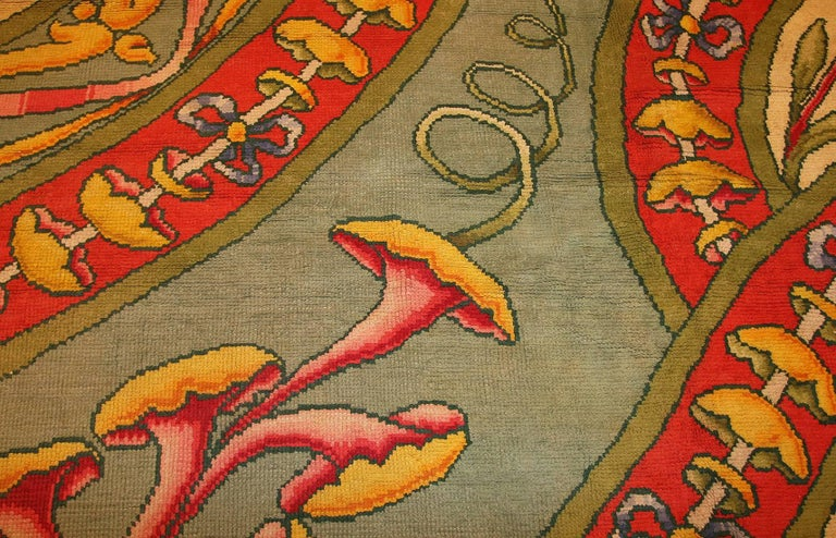 Funky Oversized Spanish Art Deco Carpet. Size: 20 ft 4 in x 28 ft 2 in For Sale 2