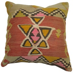 Funky Turkish Kilim Pillow