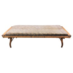 Funky Vintage Army Cot Chaise Longue