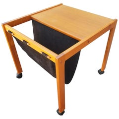 Furbo Spottrup Teak Danish Modern Magazine Table