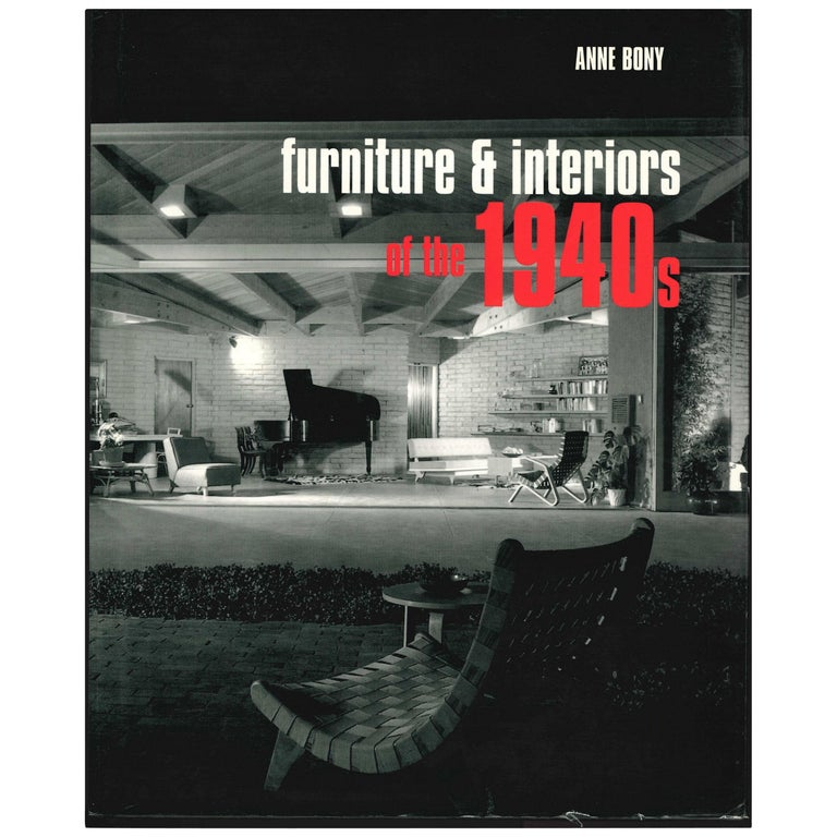 Furniture and Interiors of the 1940s, Book For Sale