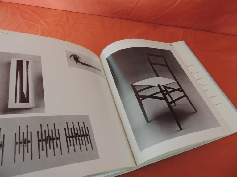 Japanese Furniture by Architects Hard-Cover Decorative Vintage Coffee Table Book For Sale