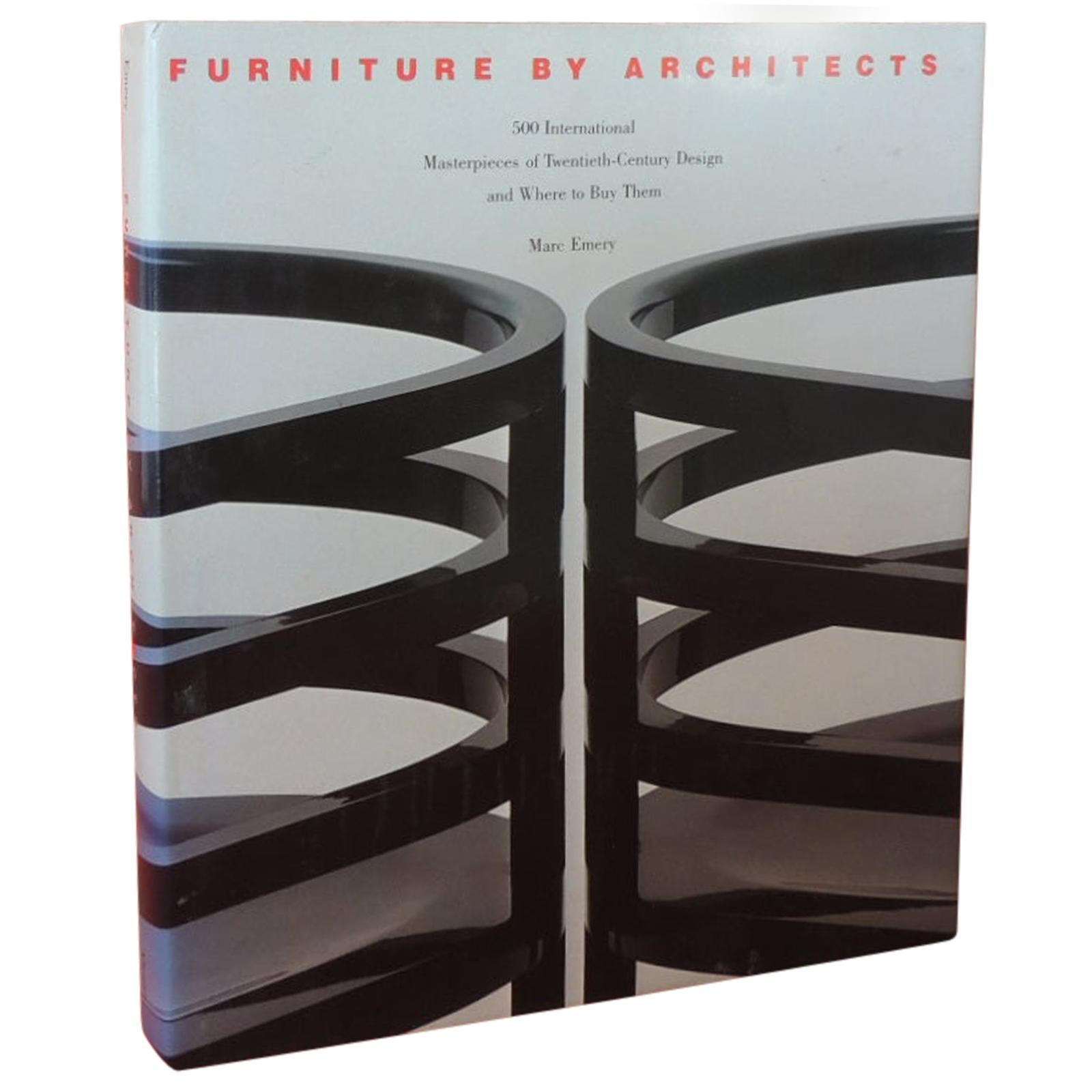 Furniture by Architects Hard-Cover Decorative Vintage Coffee Table Book