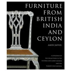 """Furniture from British India and Ceylon"" Book by Amin Jaffer."